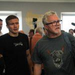IMG 8656 150x150 - Ivan Baranchyk-Josh Taylor media workout gallery