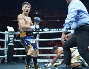 Inoue vs Rodriguez 01 photo by Naoki Fukuda 300x232 - Ring Ratings Update: The Ring crowns its eighth champion with Nayoa Inoue