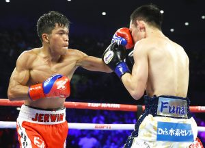 Jerwin Ancajas vs Ryuichi Funai action8 300x216 - Jerwin Ancajas wipes the slate clean, looks to beef up resume' after Funai beating