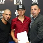 Miguel Cotto y De La Hoya firman al mexicano Jaime Kenneth Saavedra 768x695 150x150 - Jaime Kenneth Saavedra signs co-promotional deal with Golden Boy Promotions and Cotto Promotions