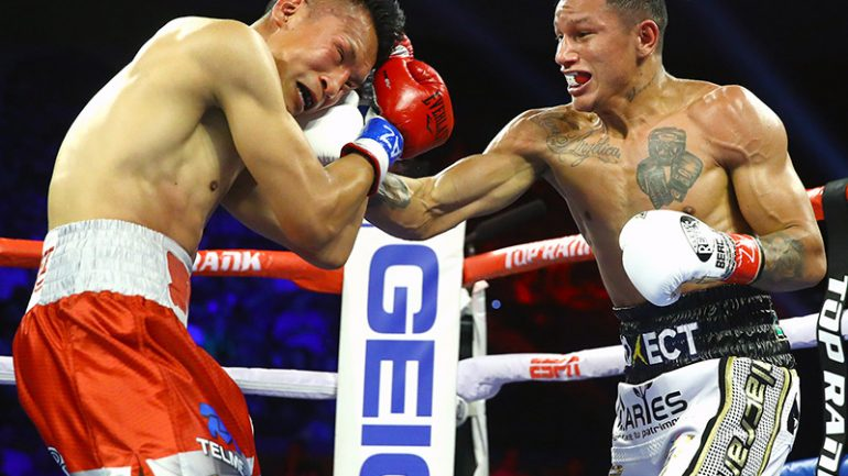 Miguel Berchelt and Emanuel Navarrete halt Francisco Vargas and Isaac Dogboe in title bout rematches