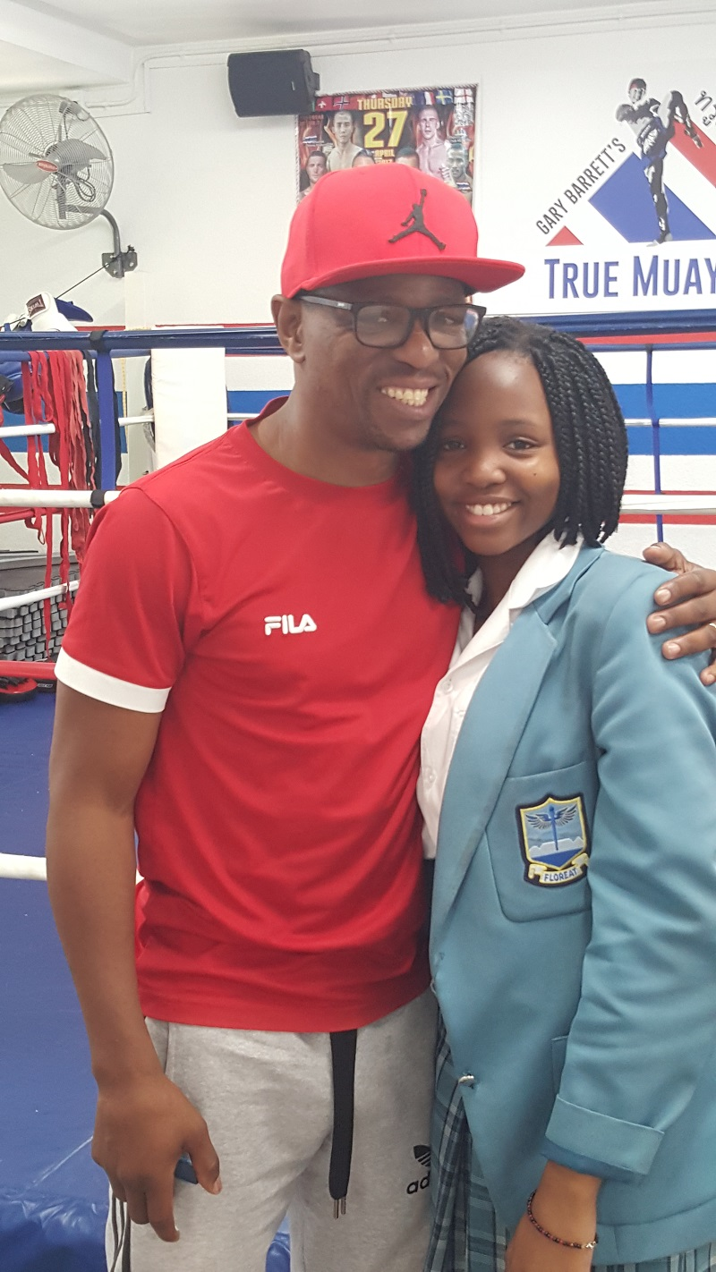 Mzonke and Buhle Fana Photo credit Droeks Malan - Mzonke Fana is still the 'Rose of Khayelitsha'