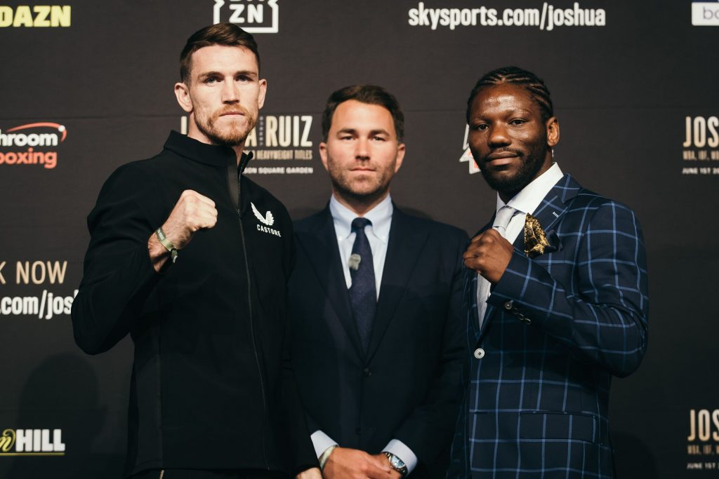 QFXz8FXw 1024x683 - Ray Robinson set for Josh Kelly challenge, notes from the Anthony Joshua-Andy Ruiz Jr. undercard