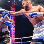 Saunders Isufi frankwarren tv 150x150 - Billy Joe Saunders easily outpoints Shefat Isufi to gain WBO title; Joyce KOs Ustinov