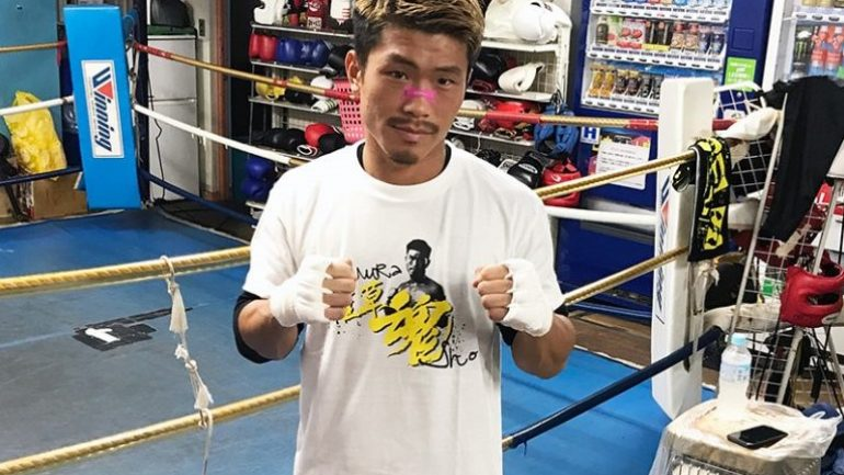 Sho Kimura: 'I'm willing to exchange punches with Carlos Canizales, if he isn't scared to engage'