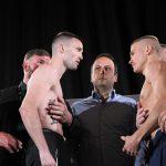 Taylor Baranchyk weighin shabbaIMG 9805 150x150 - Weigh-in alert: Ivan Baranchyk 139.5 Josh Taylor 140.2