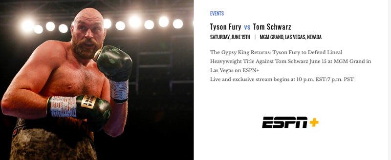 Tyson Fury vs. Tom Schwarz - Bob Arum: 'Tyson Fury is going to really resonate with the general public'