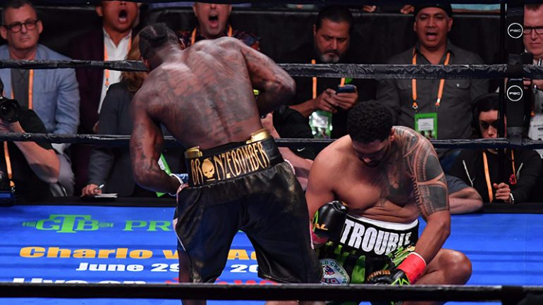 Deontay Wilder: Bombs Away