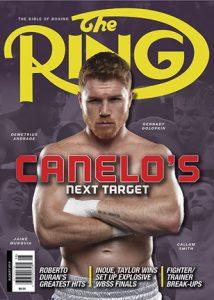 aug2019cover308x432 214x300 - Dougie's Monday mailbag (Charlo & Andrade, Canelo vs. Kovalev)