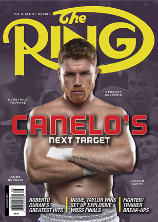 aug2019cover308x432 - British heavyweights gearing up for big fights over the next two weeks
