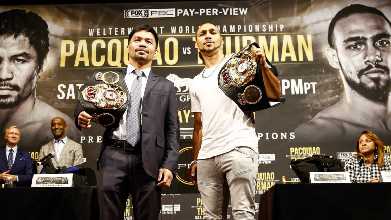 Manny Pacquiao vs. Keith Thurman