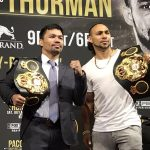 pacquiao thurman 150x150 - Manny Pacquiao: 'Keith Thurman is the biggest test of my career'