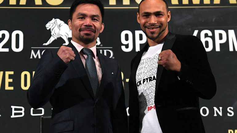 Keith Thurman can't offer anything Manny Pacquiao hasn't seen before