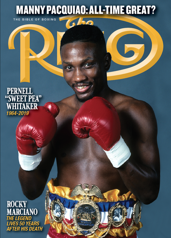 rsz final ring 10oct19 cover - 'Fight of the Millennium': The 20-year anniversary of Oscar De La Hoya-Felix Trinidad