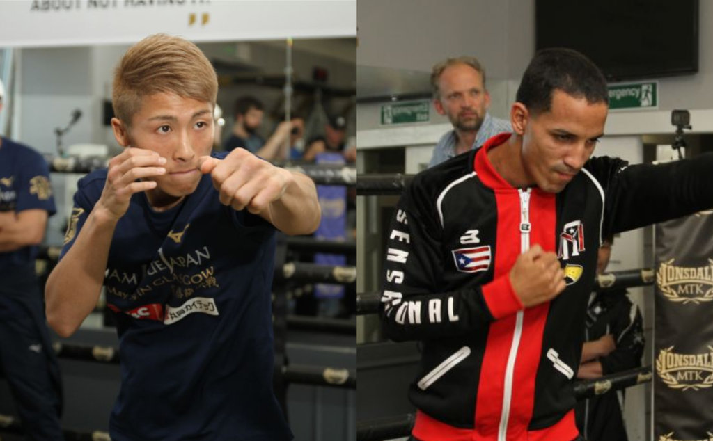Naoya Inoue-Emmanuel Rodriguez media workout gallery - The Ring