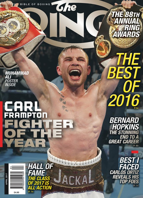 rsz ring 4apr17 coverframpton page 001 - Carl Frampton – Return of The Jackal