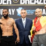 weigh in 0011 150x150 - Photos: Deontay Wilder, Dominic Breazeale on the scales in Brooklyn