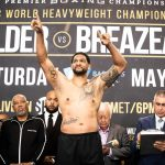 weigh in 0017 150x150 - Photos: Deontay Wilder, Dominic Breazeale on the scales in Brooklyn