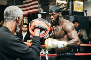 wilder workout 0021 300x200 - People crave conclusive finishes and Deontay Wilder aims to deliver them