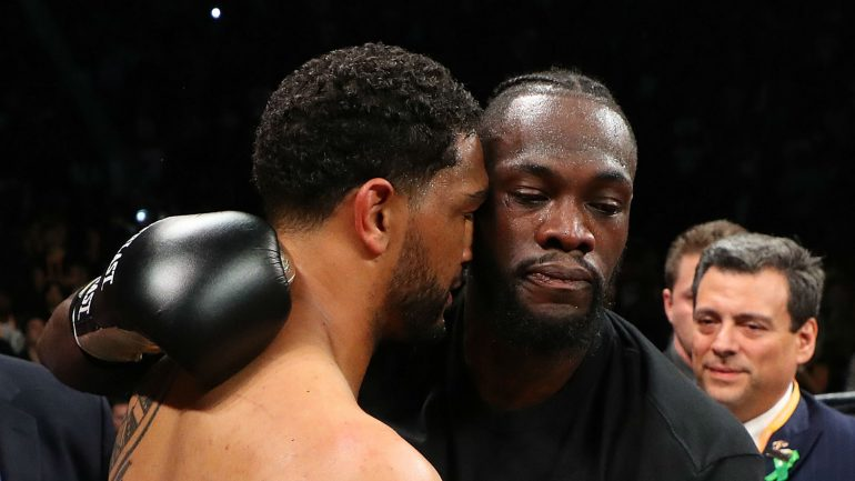 Dominic Breazeale Feels Referee Stopped Deontay Wilder Fight Too