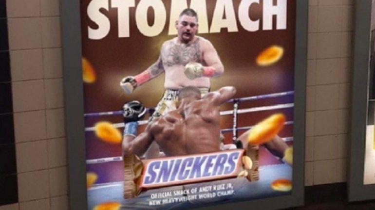 Opinion: What about it, Wheaties? Does Andy Ruiz make the cut?