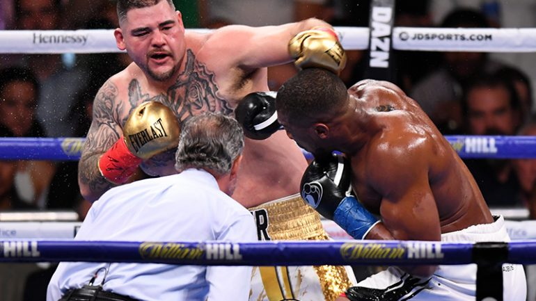 Dougie's Friday mailbag (Anthony Joshua-Andy Ruiz gripe, Vergil Ortiz and The Ring archive)