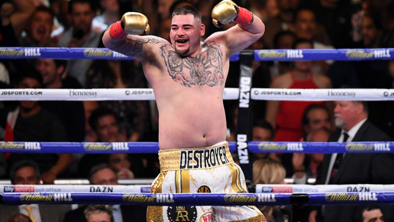 Ring Ratings Update: Andy Ruiz crashes heavyweight rankings