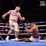 D8BmavhXYAchkyP 150x150 - Andy Ruiz shocks Anthony Joshua, stops British star in seven to win IBF-WBA-WBO heavyweight titles
