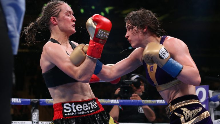 Katie Taylor-Delfine Persoon 2 confirmed for August 22