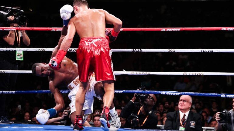 Photos: Gennadiy Golovkin knocks out Steve Rolls in 4