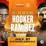 Hooker vs. Ramirez 150x150 - Maurice Hooker and Jose Ramirez to clash in 140-pound title unification on July 27