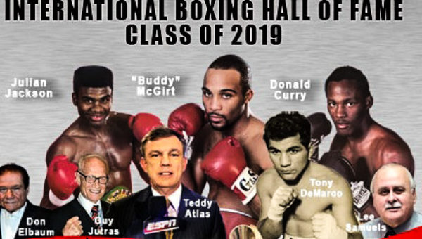 2019's inductees for the International Boxing Hall of Fame