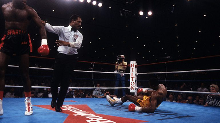 From The Archive: On This Day: Iran Barkley upsets Thomas Hearns for WBC middleweight title