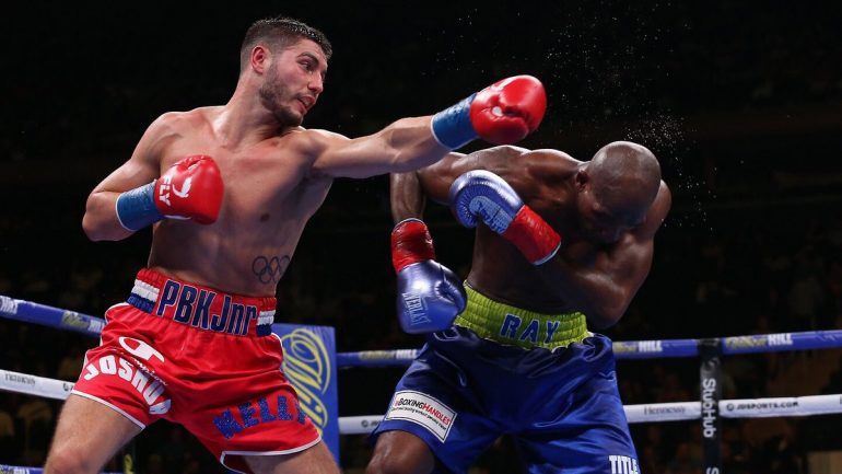 Josh Kelly held to a draw by Ray Robinson in U.S. debut