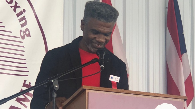 Julian Jackson Photo courtesy of the IBHOF - The Travelin' Man goes to Induction Weekend 2019: Part Three