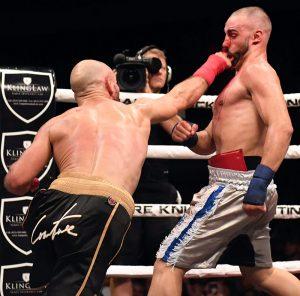 Lobov attacks Malignaggi Matthew Heasley 300x296 - Paulie Malignaggi loses decision to MMA fighter Artem Lobov in Bare Knuckle bout