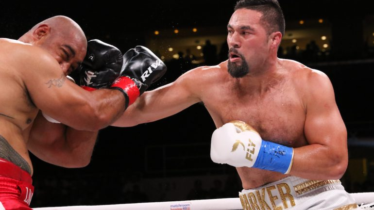 Joseph Parker makes Matchroom debut with tenth round TKO win over Alex Leapai