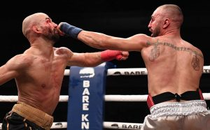 Malignaggi jabs Lobov Matthew Heasley 300x186 - Paulie Malignaggi loses decision to MMA fighter Artem Lobov in Bare Knuckle bout
