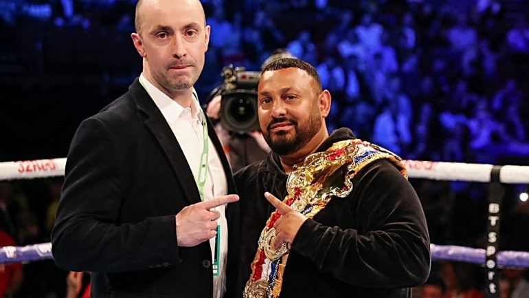 Prince Naseem Hamed awarded Ring Magazine featherweight belt, history in the making