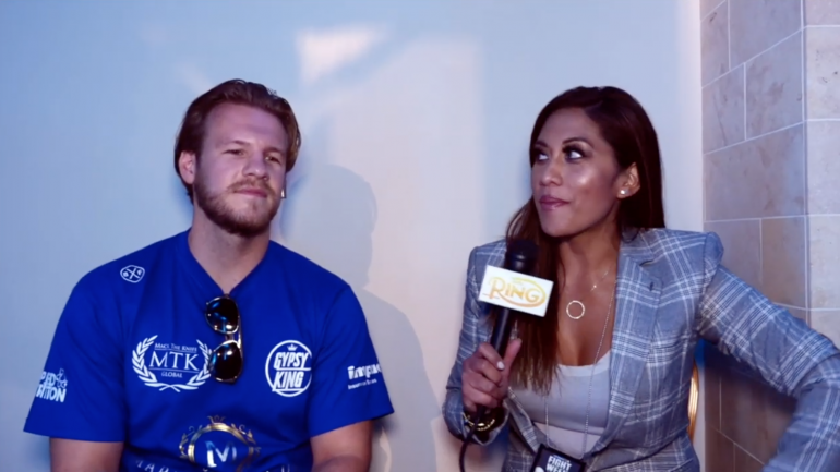 Watch: Ben Davison talks Fury rising up from the knockdown, Usyk at heavyweight