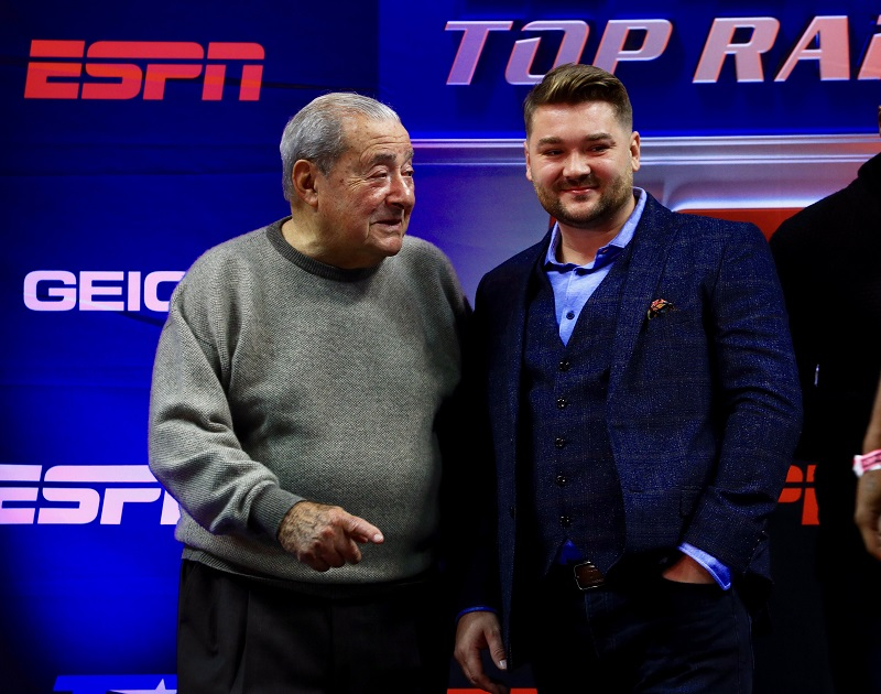 Tim VanNewhouse and Bob Arum 800 - Q&A: Manager Tim VanNewhouse