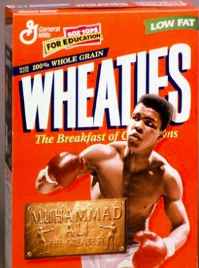 Wheaties Muhammad Alii 02 - Opinion: What about it, Wheaties? Does Andy Ruiz make the cut?