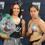 estrada abaniel 150x150 - Seniesa Estrada stops Gretchen Abaniel in 4, eyes Marlen Esparza grudge match