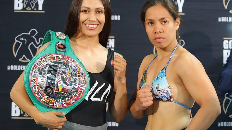 Seniesa Estrada stops Gretchen Abaniel in 4, eyes Marlen Esparza grudge match