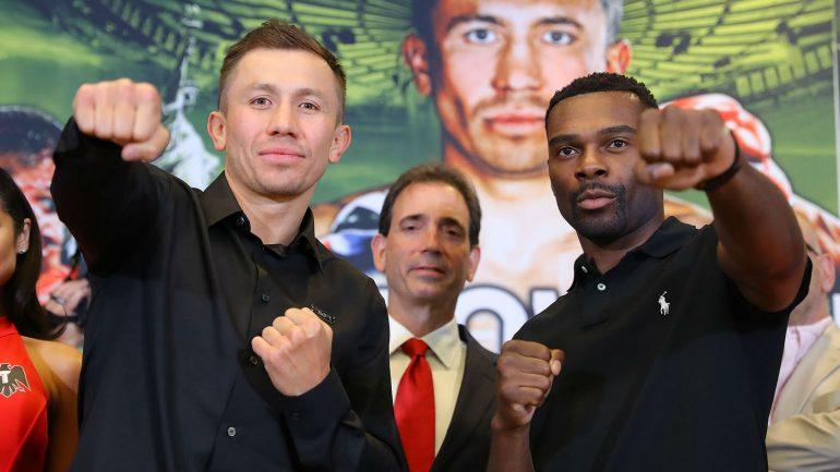 What happens if Steve Rolls beats Gennadiy Golovkin?