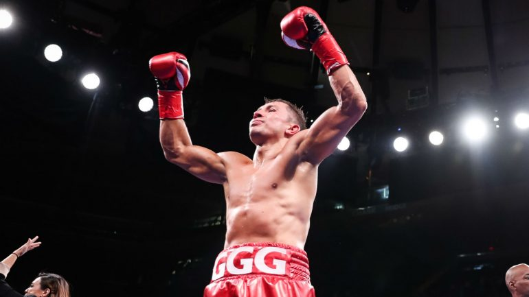 Press Release: Gennadiy Golovkin-Sergey Derevyanchenko official for vacant IBF middleweight title