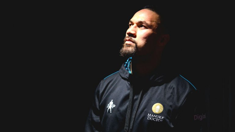 Joseph Parker is still a major player in boxing's heavyweight division
