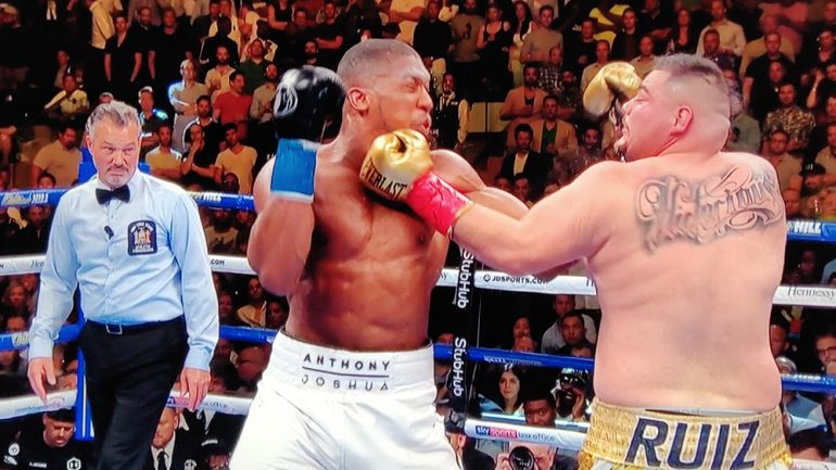 Anthony Joshua's aura gone for good in Andy Ruiz Jr. loss