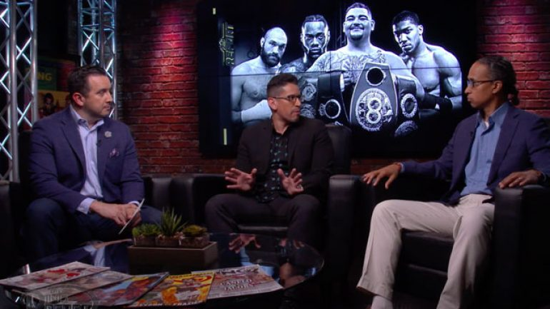 Watch: The Ring Report, Ep. 3: Joshua-Ruiz recap, guest Marcos Villegas, Tyson Fury & Naoya Inoue rankings debate