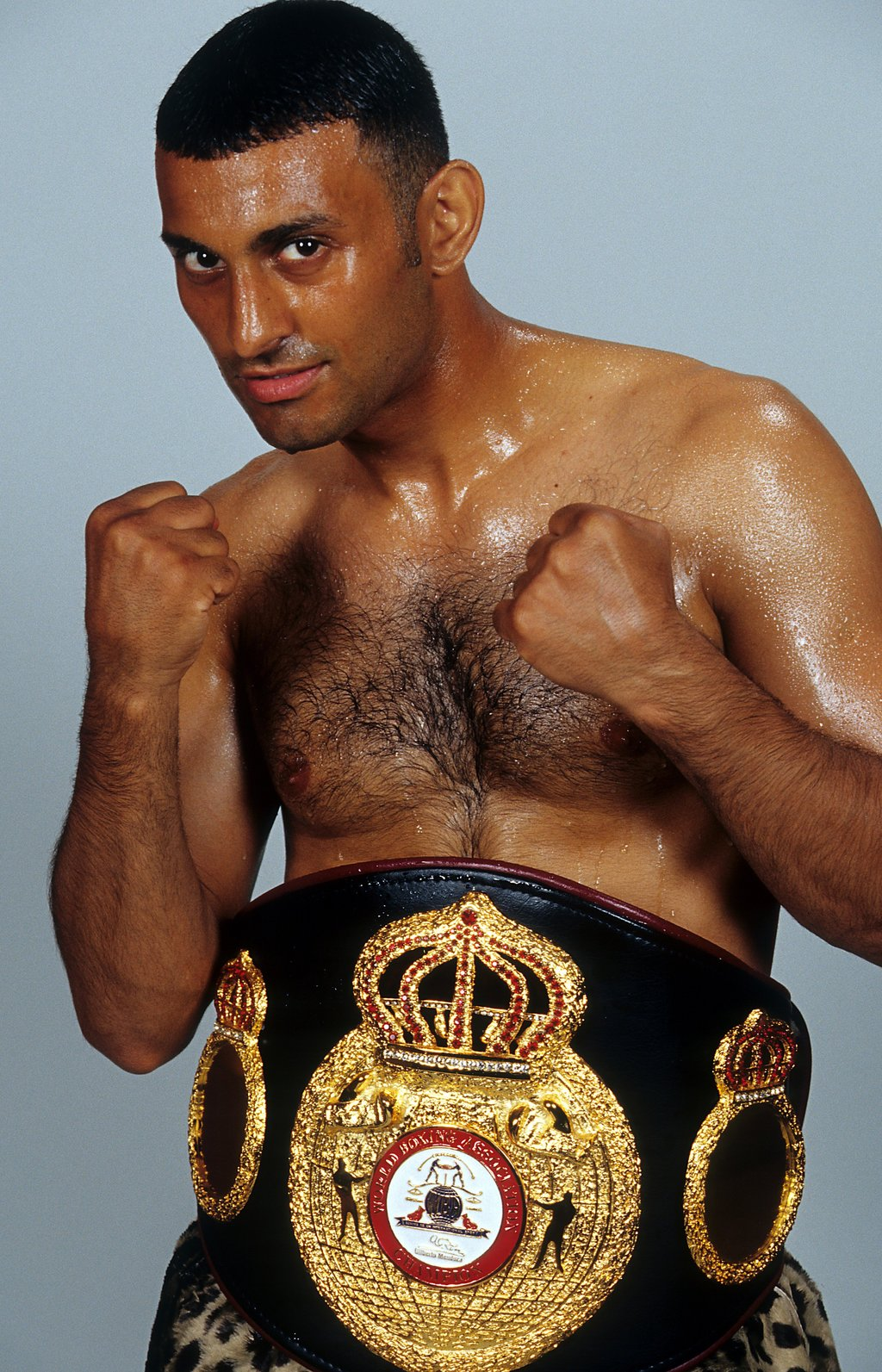 rsz gettyimages 160066361 - Prince Naseem Hamed awarded Ring Magazine featherweight belt, history in the making